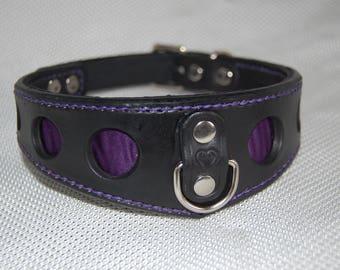 Bdsm Collarbondage Collar Fetish Collar Slave Collarleather Collar Leather Choker Handmade Hand Stitched