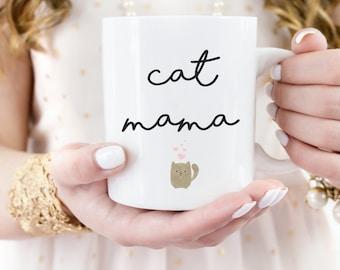 Cat Mama Mug, Cat Lovers Mug, Crazy Cat Lady Mug, Funny Cat Mug, Cat Lover Gift, Cat Mug, Cat Mama Gift, Kitten Mug, Kitty Love Mug
