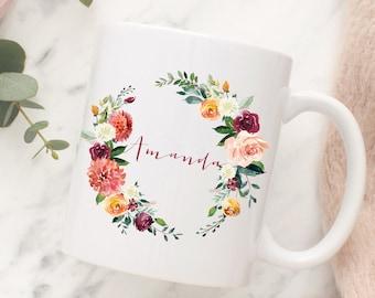 Customized Bridesmaids Mugs, Bridesmaid Mug, Bridesmaid Gift, Will you be my Bridesmaid