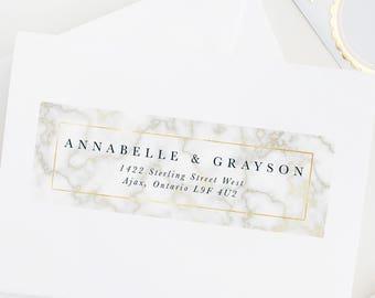 wedding address labels etsy