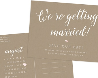 Engaged & Save the Date