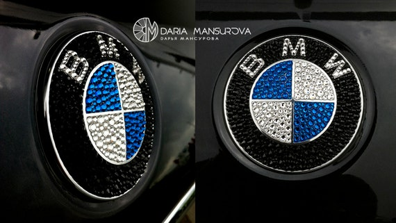 GENUINE BMW M Performance Aluminium Emblem Sticker for Power Kit 51142296495