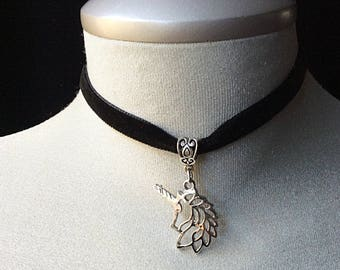 Unicorn jewelry, unicorn necklace, unicorn gift for girls, unicorn gift kids, silver unicorn charm, unicorn pendant, unicorn birthday gift