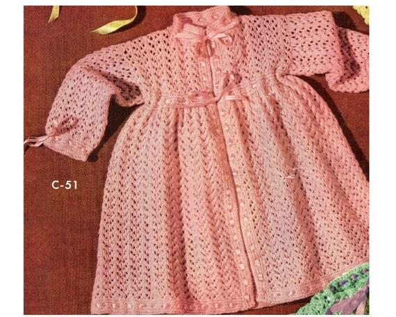 Baby Dress Knitting Pattern Toddler Dress Knitting Pattern Pdf Etsy