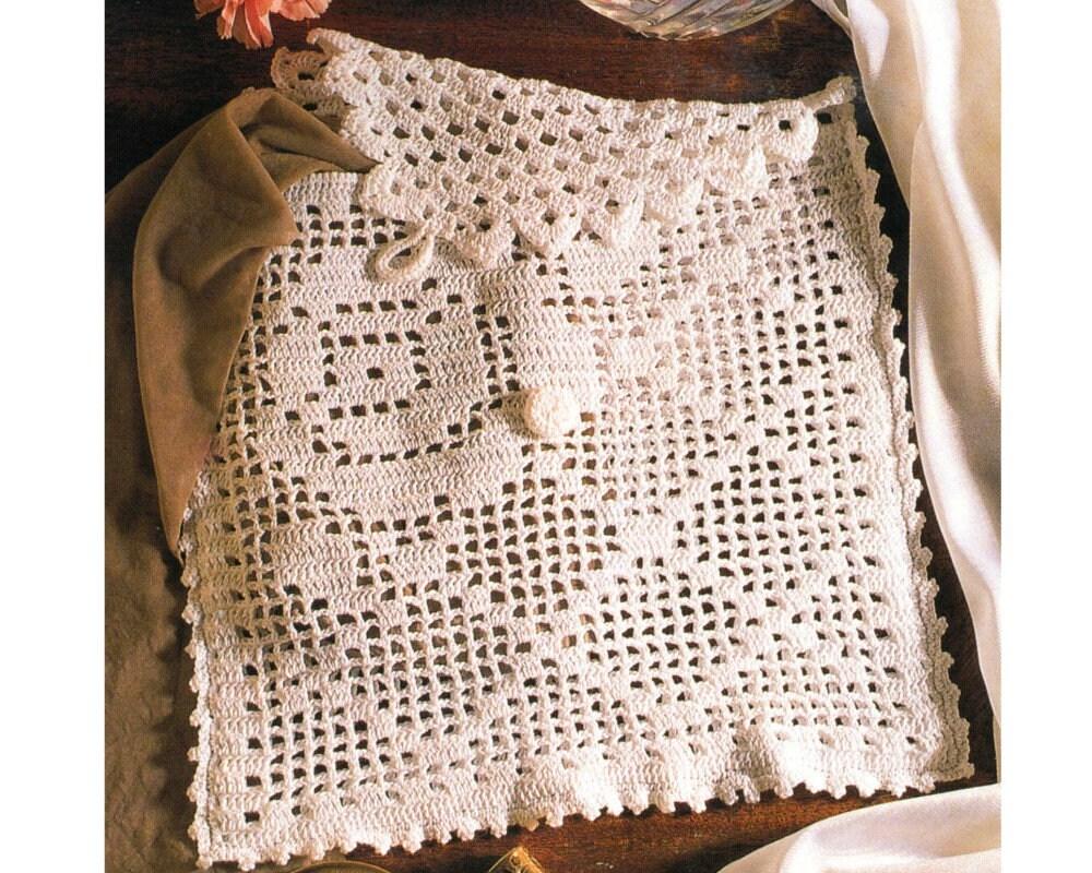 Jewelry Travel Bag Crochet Pattern Lingerie Bag Crochet Etsy
