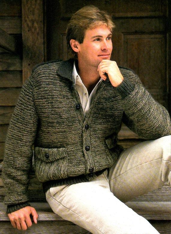 Mens Bomber Jacket Sweater Crochet Pattern Man Bomber Etsy