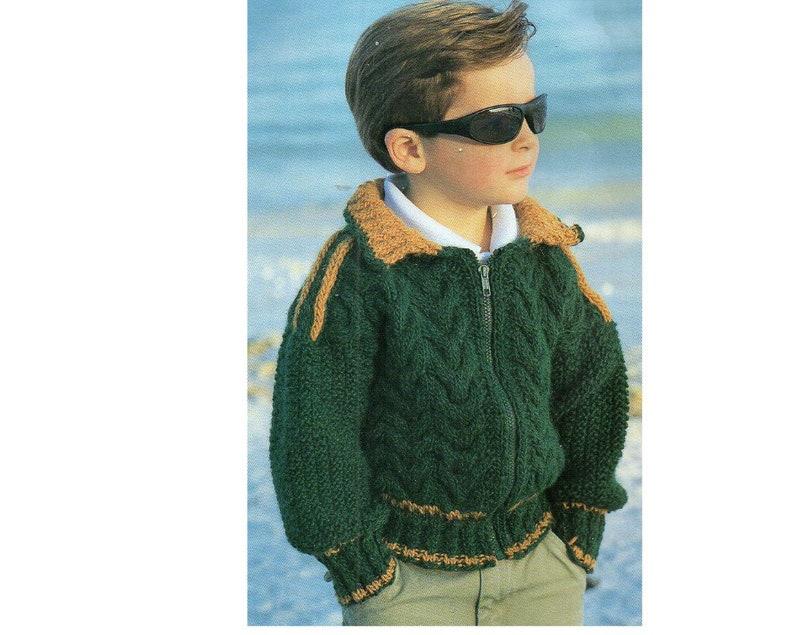 b5f8c8809770 Jacket Knitting Patterns - Classy World