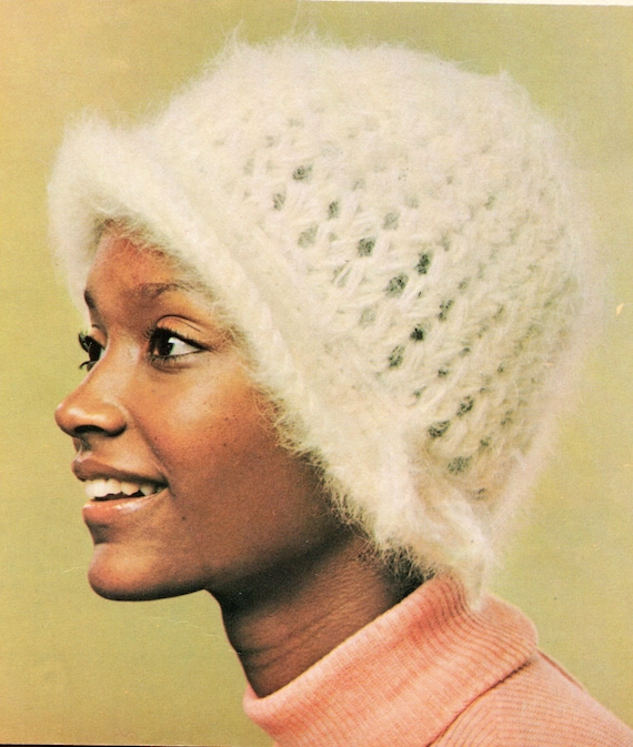 Cloche Hat Crochet Pattern Cloche Hat Cap Crochet Pattern Pdf Etsy