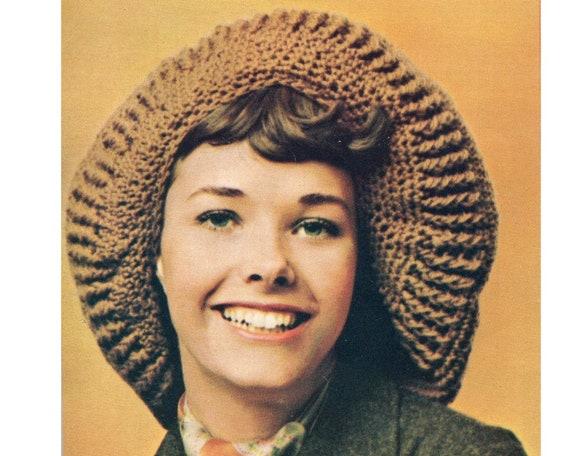 Floppy Hat Beret Crochet Pattern Big Floppy Beret Hat Cap Etsy