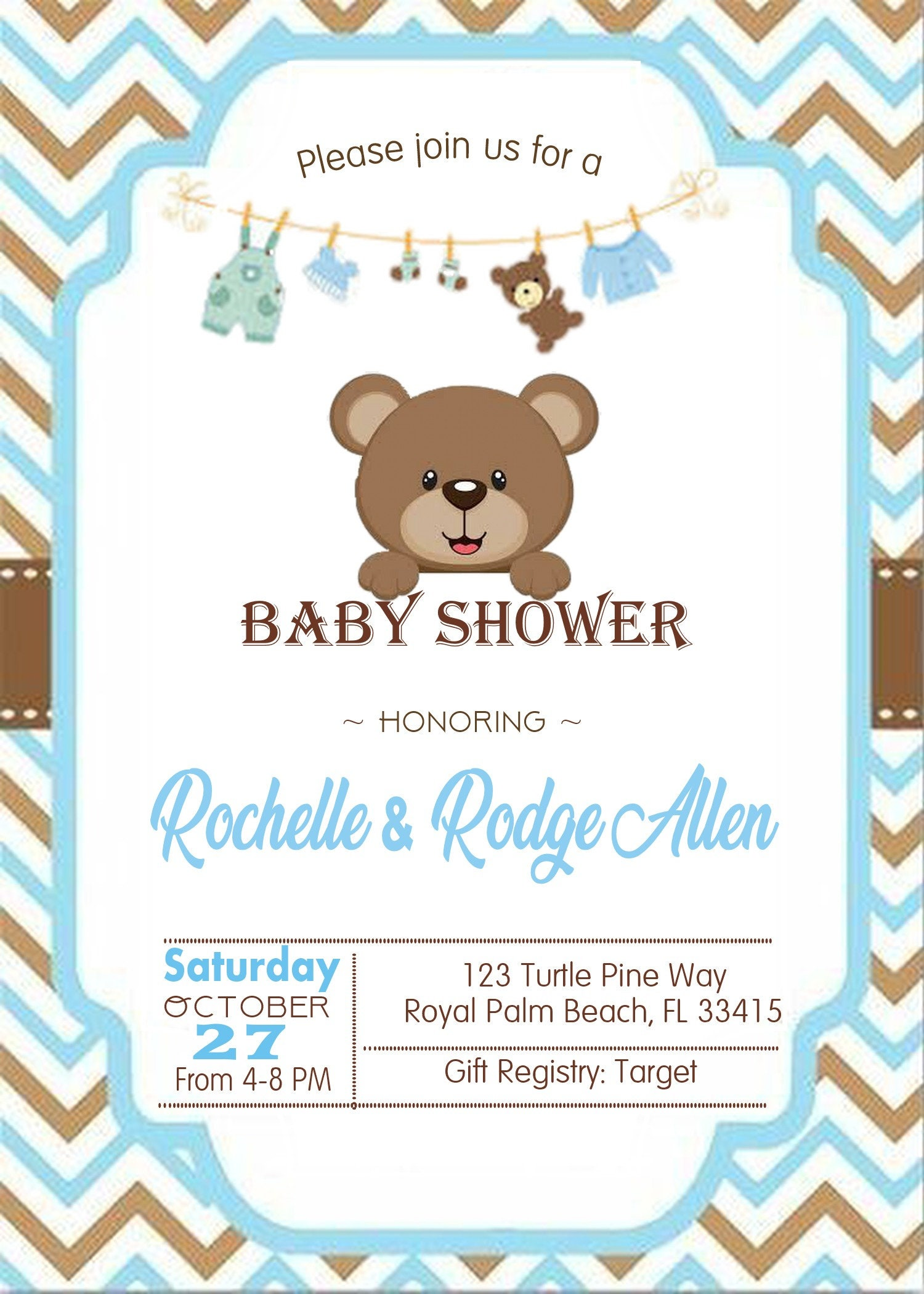 Teddy Bear Baby shower invitation, It's a Boy baby shower, Baby Blue baby  shower invitation, Boy baby shower, baby bear