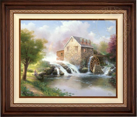 Thomas Kinkade Blessings Of Summer 24 X 30 Lithograph On Etsy