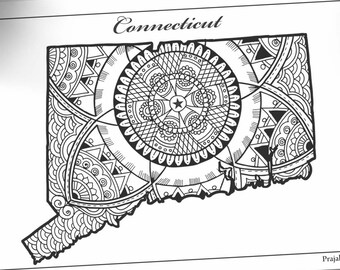 Connecticut State Flower coloring page   Free Printable Coloring Pages   270x340