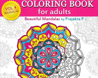 Beautiful Mandalas Adult Coloring Book 15 Relaxing To Download And Color Stress Relieving Gifts For Grown Ups Meditation