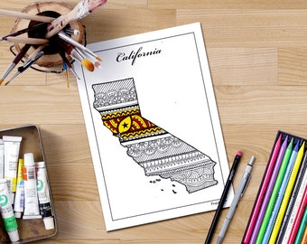 bookmark printable coloring pages coloring pages coloring etsy