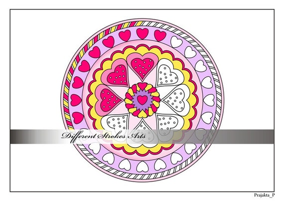 Kleurplaten Voor Volwassenen Valentijn.Valentijn Harten Mandala Kleurplaten Pagina Voor Volwassenen Lesbische Valentijn Cadeau Pagina S Valentines Mandala Kleurplaten