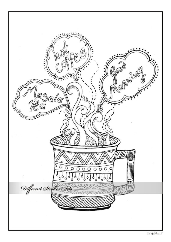 Coloring Page Adult Printable Pages