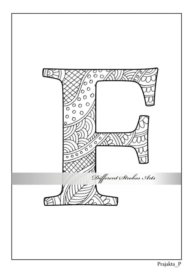 Mewarna07 Kleurplaat Letter F