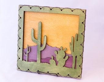 Cactus Desert House Decor