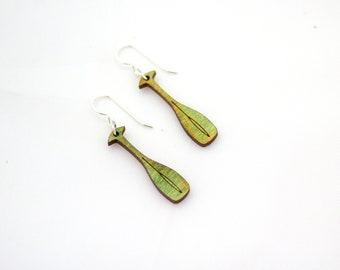 Paddle Earrings