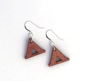 Tent Earrings