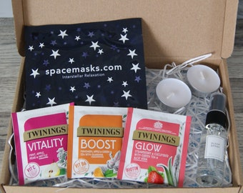 Little Sleep Gift Box   Pamper Gift Box   Mindfulness gift   Gift for her   Paper flower gift   Isolation gift