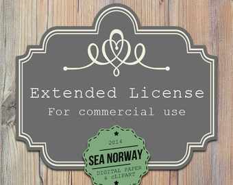 Extended License - for commercial use for