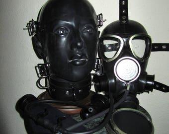 Rubber mask bdsm