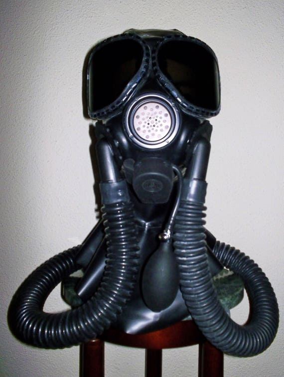 Fetish gas mask picture