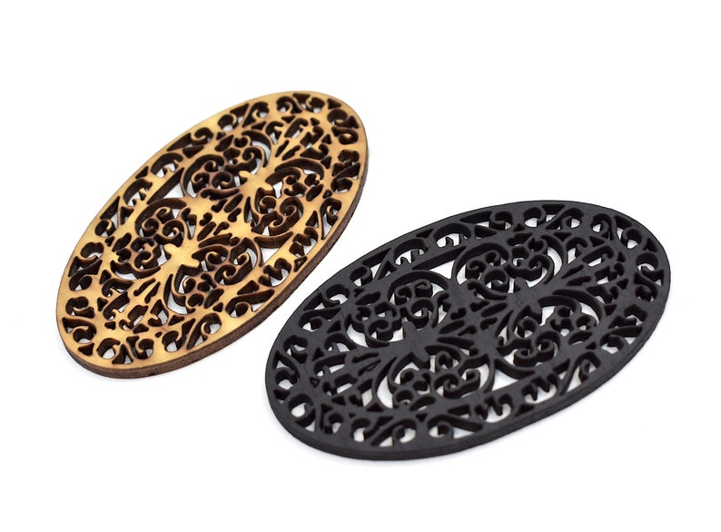 1:12 DIY Kit - Oval Front Door Mat Wrought Iron Entrance Grille Ornate  Pattern Classical Traditional Modern Dollhouse Miniature Entry Décor