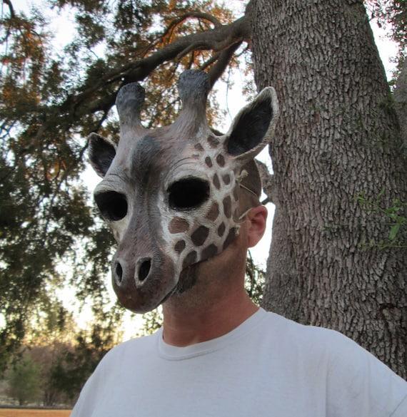 6 Animales Salvajes De Plástico Para Niños Cara masks//fancy Vestido Plástico Wildlife Máscaras