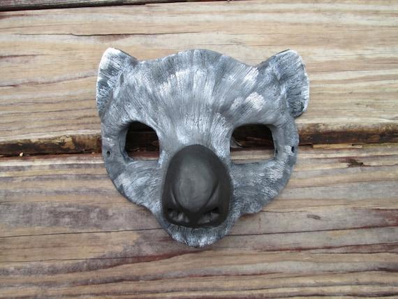 Koala Bear Mask Animal Costume Spirit Hand