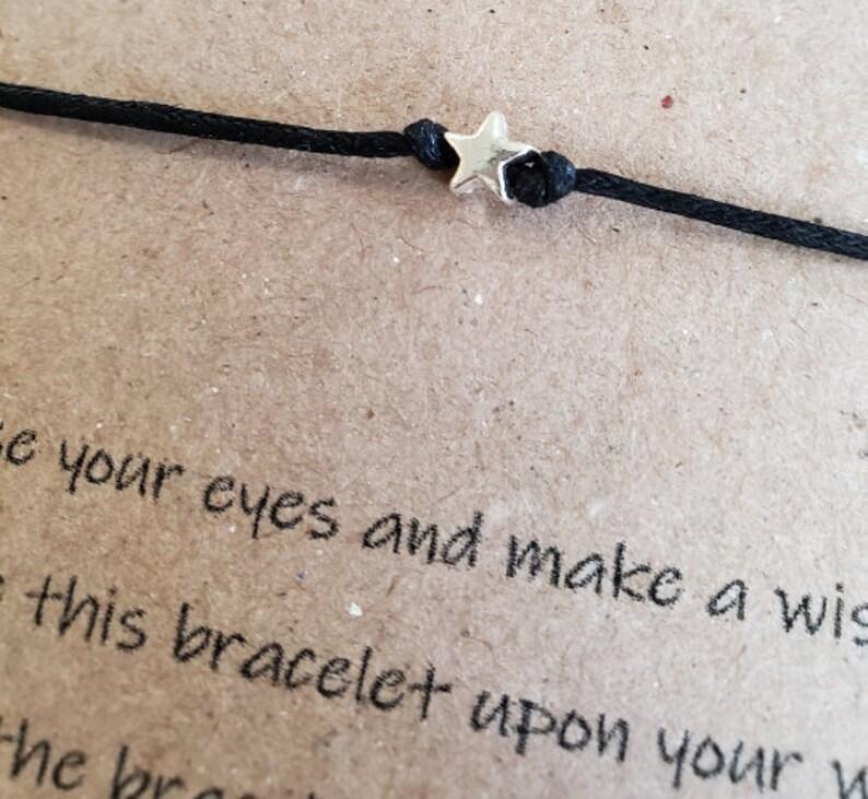 Wish Bracelet friendship bracelet best friend tie bracelet star bracelet wish star tie bracelet you are my sunshine bracelet valentines day