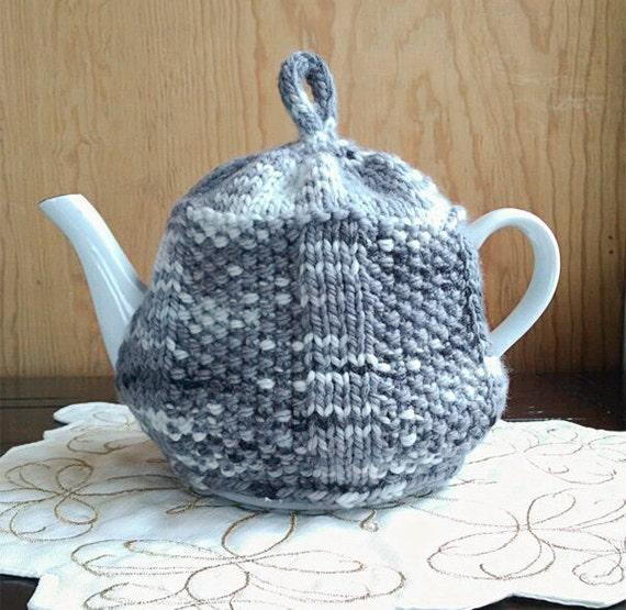 Tea House Teapot Cozy Knitting Pattern Etsy