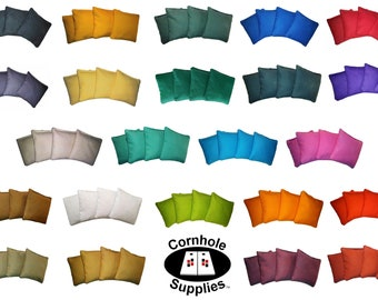 Cornhole Bags Regulation Size And Weight No Break 100% Guarantee 4 Bags ACA Double Stitched Corn Filled Beanbags Great Feedback