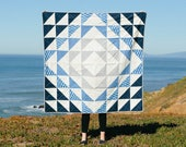 Atlantic Quilt Pattern + Tutorial PDF