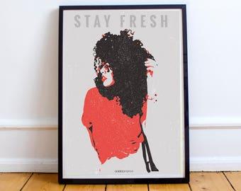 Stay Fresh African American Art