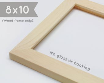 Blank frames etsy 8x10 picture frame wood frame only no glass no backing board no hanging hardware wholesale frame blank frame frame shell m4hsunfo