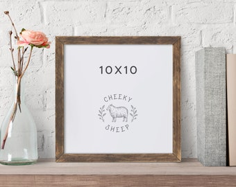 10x10 Picture Frame Etsy