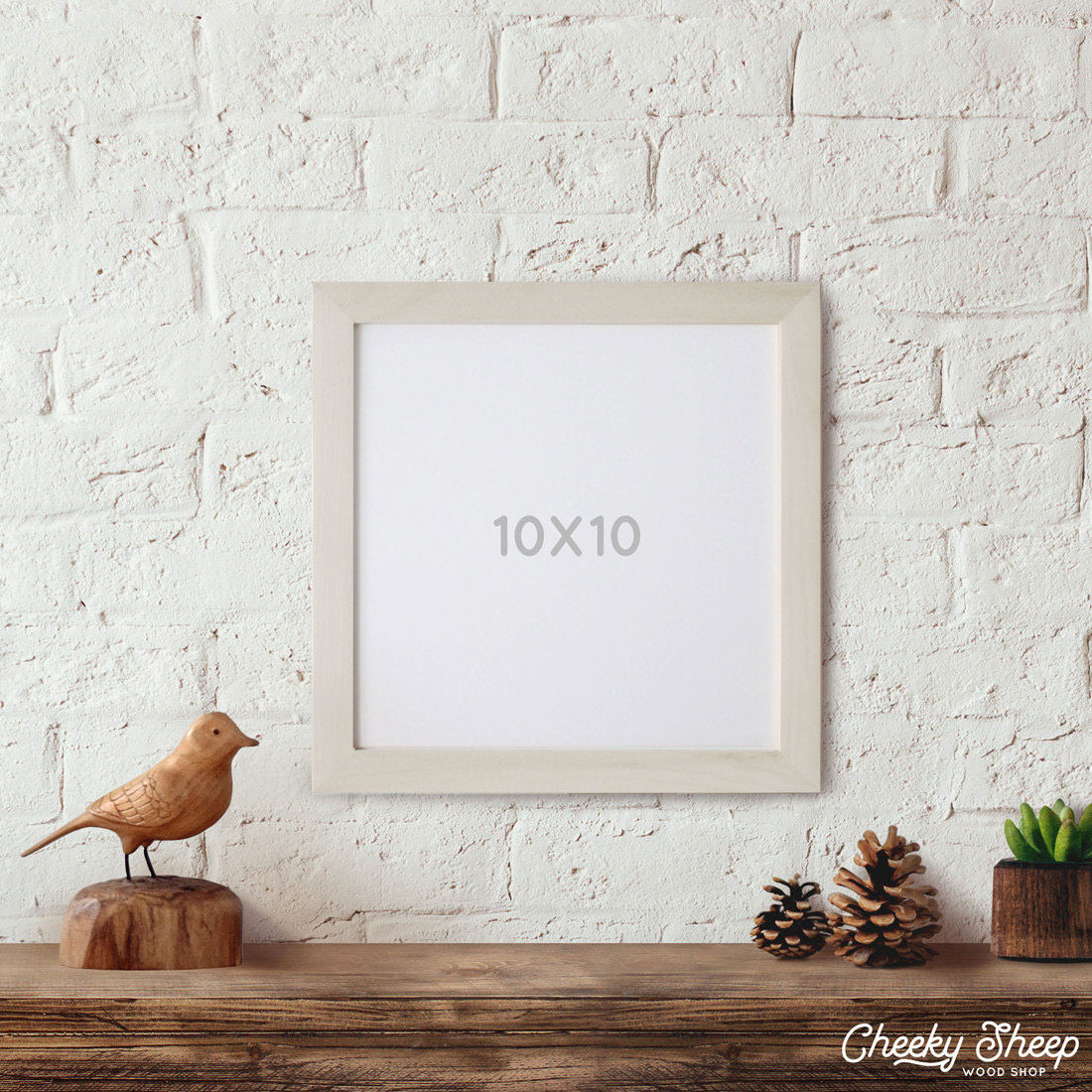 10x10 Picture Frame Square Picture Frame Photo Frame, Craft Frames ...