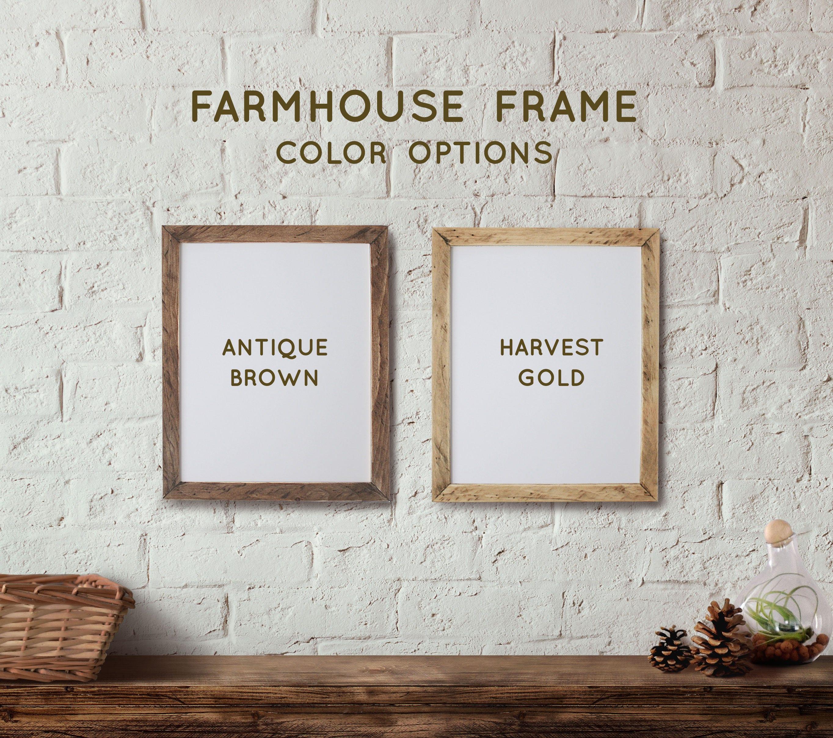Farmhouse 50cm x 70 cm POSTER Frame *NO GLASS* 19.75\