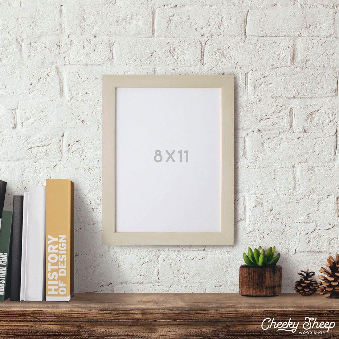 8 x 11 imagen marco artesanal marco madera marco marco hogar