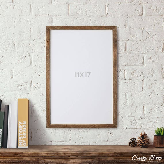 Farmhouse Wood Frame 11x17 POSTER Frame Picture Frame 11x17