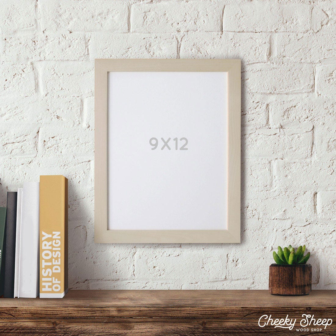 9x12 Picture Frame Craft Frames Wood Picture Frame Modern Rustic ...