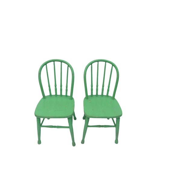 image 0 - Antique Children's Chairs Pair Set Of Childrens Etsy