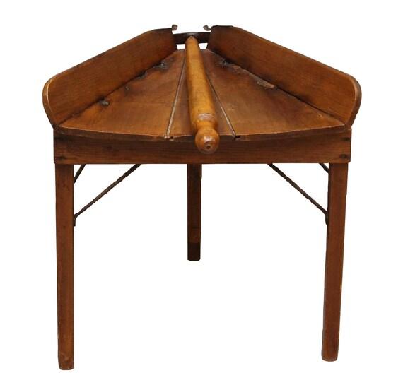 Primitive Pa Teig Rollen Tisch Antik Pennsylvania Rustikale   Etsy