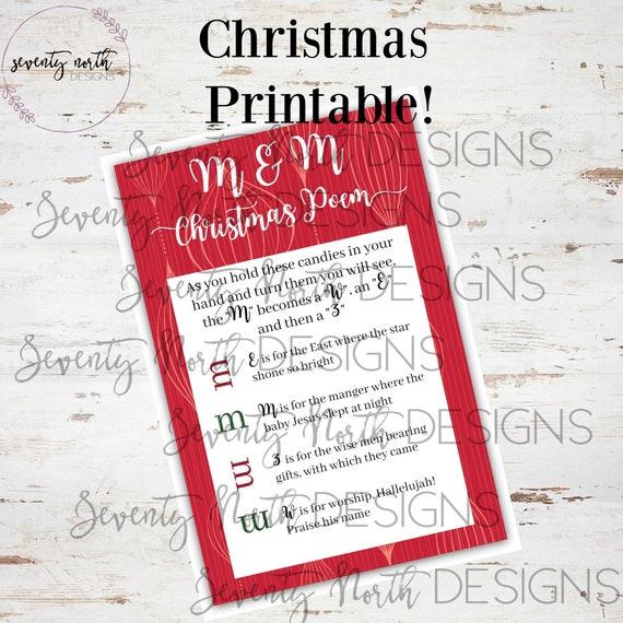 Printable Christmas Activities.Religious Christmas Printable Christmas Activities Christmas Prints Christmas Neighbor Gift Print Christmas Poem
