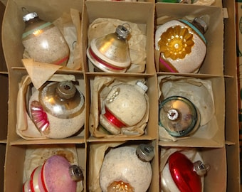 Christmas Ornaments Vintage Shiny Brite from USA
