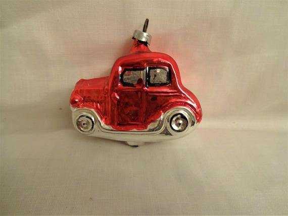 Car Christmas Ornaments.Car Vintage Christmas Ornament 40 S