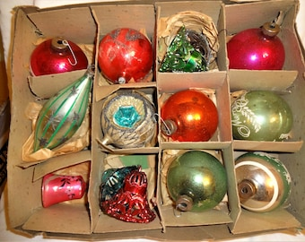 Christmas Ornaments Vintage