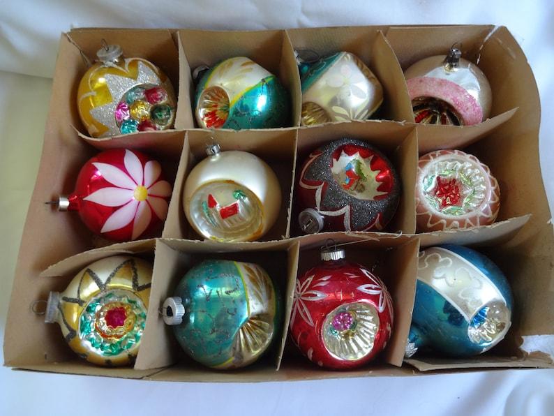 Christmas Ornaments Vintage Large